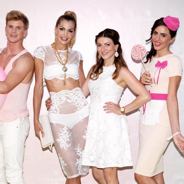 Agentur Perfect - Event- & Modelagentur in Österreich - Brigitte Truppe im Einsatz mit Models bei der Fete Leon
