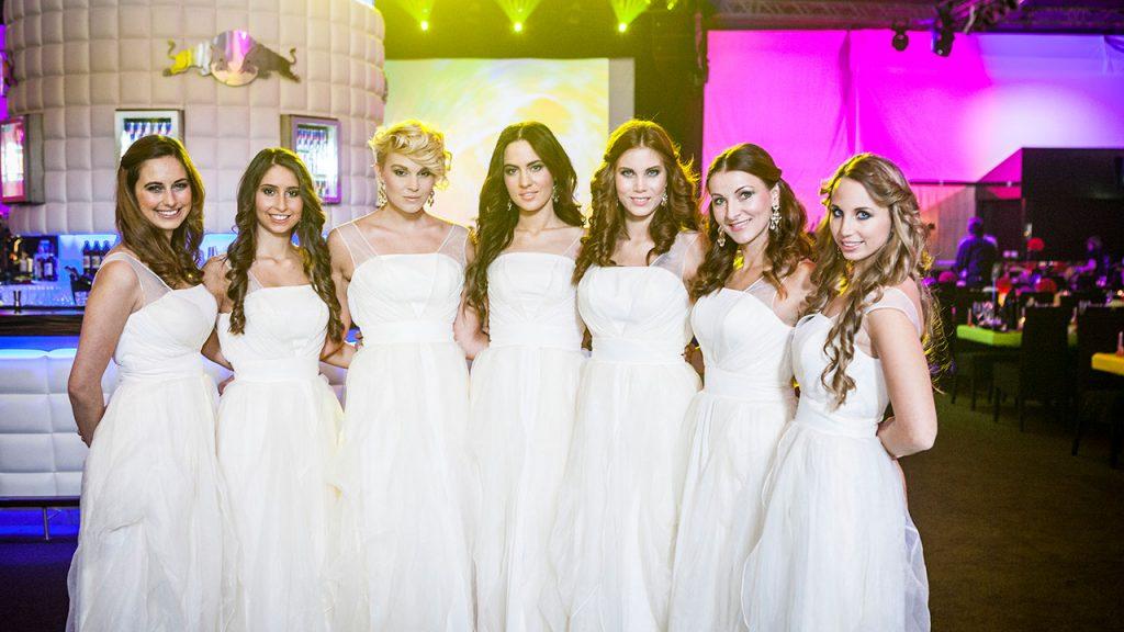 Agentur Perfect - Event- & Modelagentur in Österreich - Models in weißen Kleidern bei der Fete Blanche am Wörthersee